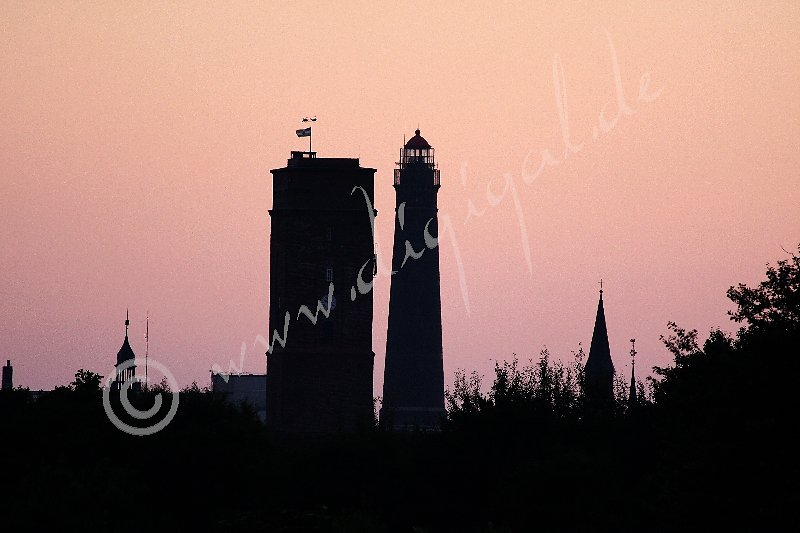 Der Alte und der Neue Leuchtturm