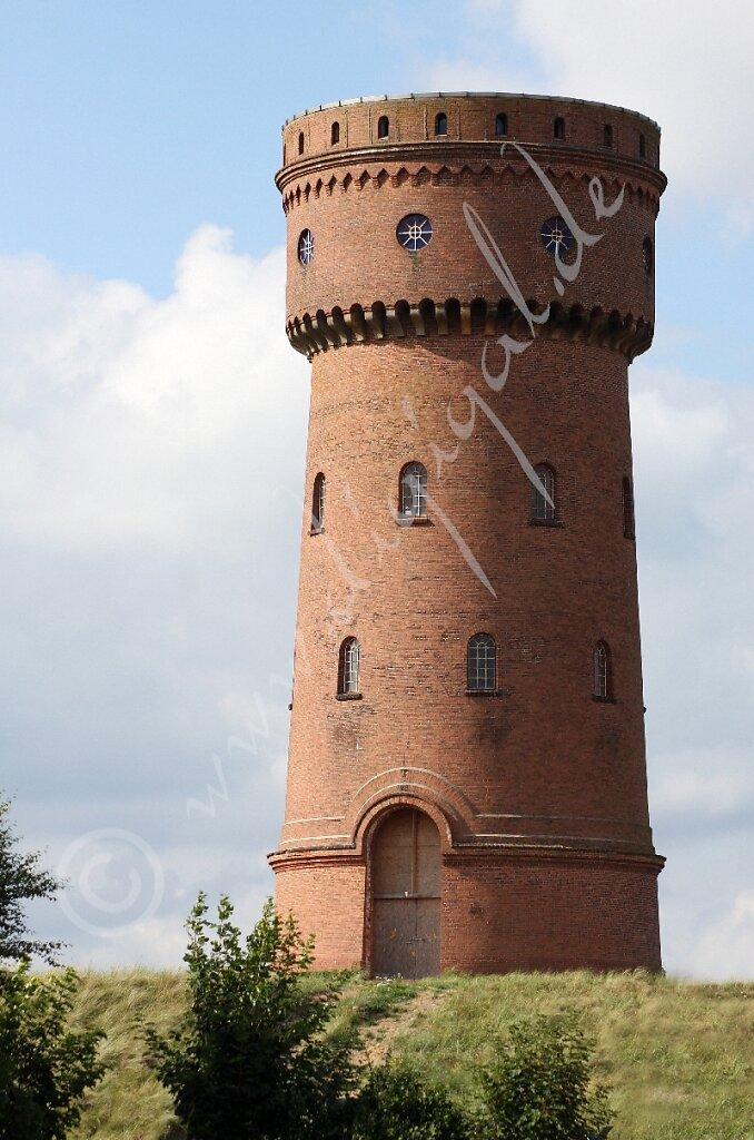 Der Wasserturm vor seinem Umbau - Watertoorn van Börkum